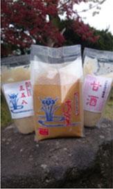 新発田産のお米と大豆で仕込んだ手作り味噌